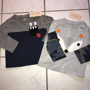 First Impressions 18 Month shirt lot-NWT